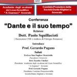"""Soverato – Venerdì 03 Marzo la conferenza """"Dante e il suo tempo"""""""