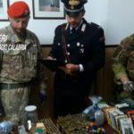 Rinvenute armi e munizioni, 61enne arrestato