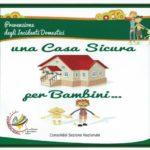 """Pubblicato il manuale """"Una casa sicura per bambini"""""""