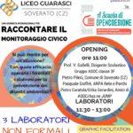 """Sabato 4 Marzo """"Open Data Day"""" al Liceo Scientifico di Soverato"""