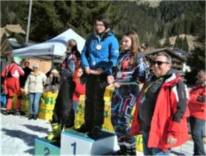Giovane calabrese si conferma campionessa nazionale UISP di Sci Alpino