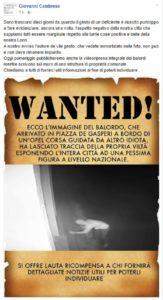 Scritte contro don Ciotti a Locri, il sindaco pubblica foto dell'autore su social network