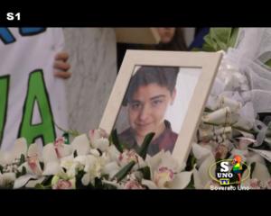 VIDEO | Lacrime e commozione a Petrizzi per i funerali di Leandro Celia
