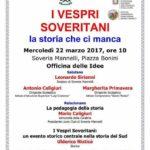 I Vespri Soveritani e il 22 marzo 2017