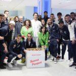 Associazione Diritti Minore, animazione per la Pasqua in ospedale con i calciatori del Catanzaro e le uova Monardo