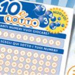 Doppia vincita al 10eLotto messa a segno in Calabria, 212.000 euro complessivi