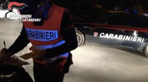Controlli Carabinieri di Catanzaro: sanzioni a locali commerciali, 2 arresti e una denuncia