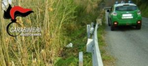 Rubavano le traversine dei guard rail per rivenderne il metallo, denunciati