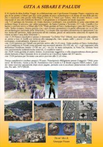 Gita domenicale del 30 aprile da Soverato a Sibari e Paludi