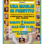 """Teatro Soverato – Sabato 6 Maggio """"Una Moglie in Prestito"""""""