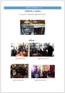 Lamezia Terme – Online il Menù Letterario N°5