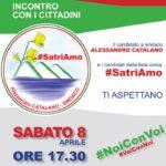 """Satriano – Sabato 8 Aprile incontro lista """"#SatriAmo"""" con i cittadini"""