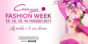 La moda e le sue forme protagoniste per quattro giorni con il Cosenza Fashion Week