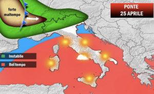 Sole e temperature in aumento per il ponte del 25 aprile in Calabria