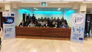 """Festa dell'Europa anche nella Provincia di Catanzaro con gli studenti del liceo statale """"E.Fermi"""""""