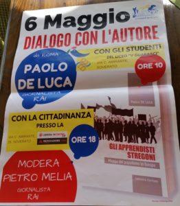 """Soverato – Sabato 6 Maggio Paolo De Luca presenta """"Gli apprendisti stregoni"""""""