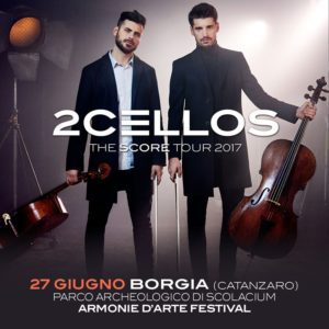I 2Cellos salutano la Calabria in un video dedicato