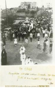 FOTO D'EPOCA   Soverato – 24 Maggio 1959 Festa di Maria Ausiliatrice