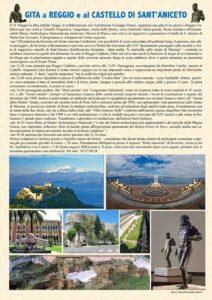Il 21 Maggio gita da Soverato a Reggio e al Castello di Sant'Aniceto