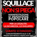 Squillace – Sabato 13 Maggio la cittadinanza scende in piazza