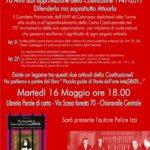 """Martedì 16 presentazione libro """"Piccola guida di storie…"""" a Chiaravalle Centrale"""