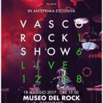 Vasco Rock Show in video concerto al Museo del Rock di Catanzaro