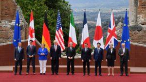 G7 fallito, e patti chiari, nemici cari