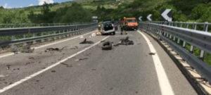 Due fratelli calabresi perdono la vita in un incidente stradale in Basilicata