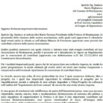 Risposta al Sindaco di Montepaone dal Presidente della Proloco