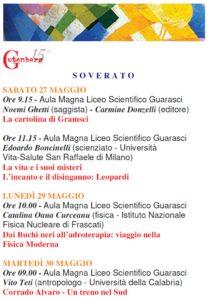 Gutenberg 2017, il programma completo del Liceo Scientifico di Soverato