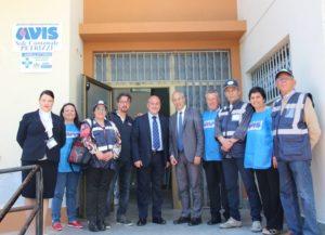 il Capo del Dipartimento Nazionale della Protezione Civile Fabrizio Curcio visita l'Avis Comunale di Petrizzi