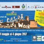 Dal 31 Maggio al 4 Giugno ritorna Le Castella Tarantella Week IV° Edizione