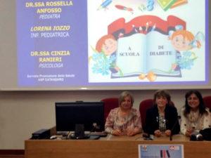 """""""A Scuola di Diabete"""" per Insegnanti dell'I.c. """"S. Eufemia Lamezia"""""""