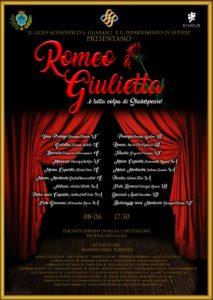 """Soverato – Giovedì 8 Giugno """"Romeo & Giulietta"""""""