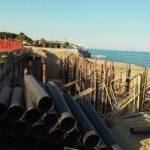 Iniziati i lavori di ricostruzione del Lido Ulisse a Squillace lido