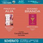 """Soverato, Pinuccio Alia e Rosario Branda il 30 giugno alla """"Marinella"""""""