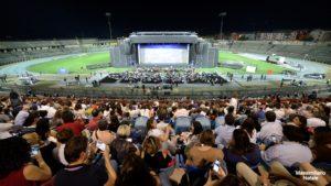 Tripudio per il debutto di Notre Dame De Paris allo Stadio San Vito di Cosenza