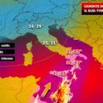 """Caronte infiamma la Calabria: temperature record, """"fino a 44 gradi""""!"""
