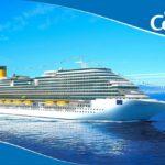 Costa Crociere: 4.500 assunzioni in Italia