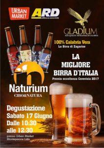 A Montepaone degustazione Naturium con la premiata birra di Zagarise