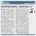 Rai1 – Linea Verde Estate, Quaranta e… il «granchio etrusco»