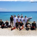 Soverato – Simulazione salvataggio in mare con cani