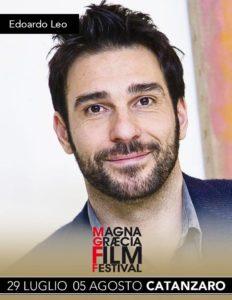 Edoardo Leo al Magna Graecia Film Festival