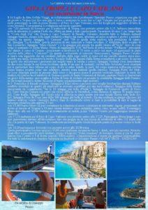 Il 16 Luglio gita da Soverato a Tropea e Capo Vaticano con escursione in barca