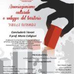 Chiaravalle Centrale, cultura e territorio: convegno con il prof. Mario Caligiuri