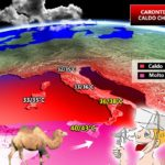 "Caldo – Imperversa l'anticiclone africano ""Caronte"", temperature roventi in Calabria"
