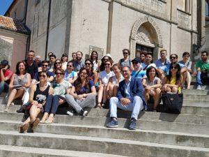 Il convento di Chiaravalle Centrale meta turistica per scienziati e ricercatori di Londra e Westminster