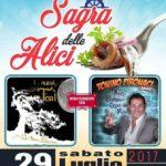 """Santa Caterina dello Ionio –  Sabato 29 luglio la """"Sagra delle Alici"""""""