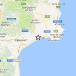 Tre scosse di terremoto questa mattina nel catanzarese
