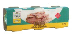 Allarme nei supermercati italiani, ritirato tonno all'olio di girasole